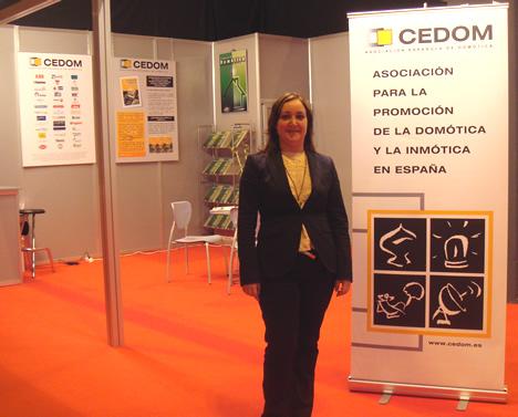 CEDOM Stand SIMA y SIMAfutura 2008