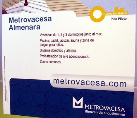 Metrovacesa Cartel Domótica y Alarma SIMA y SIMAfutura 2008