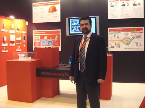 Stand Securitas Direct SIMA y SIMAfutura 2008