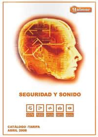 Catalogo Seguridad y Sonido 2008 de Golmar