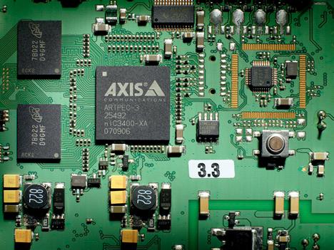 Placa Procesador Video H.264 Axis