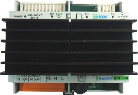 ISDE Regulador Digital IND-260F