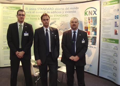 Stand Asociación KNX España en Instalmat 2008