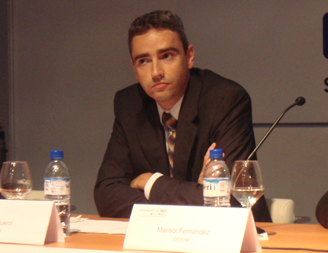 Oscar Querrol CEDOM Conferencia Domótica InstalMat 2008