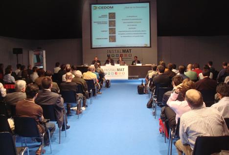 General Sala Conferencia Domótica InstalMat 2008