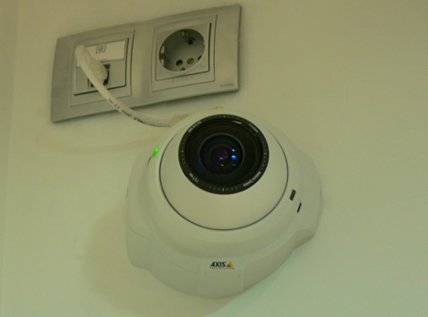 Cámara IP Sala BCNdigital