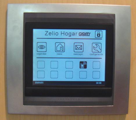 Interface Zelio Hogar GSM Sala BCNdigital