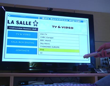 Televisión IP Sala BCNdigital
