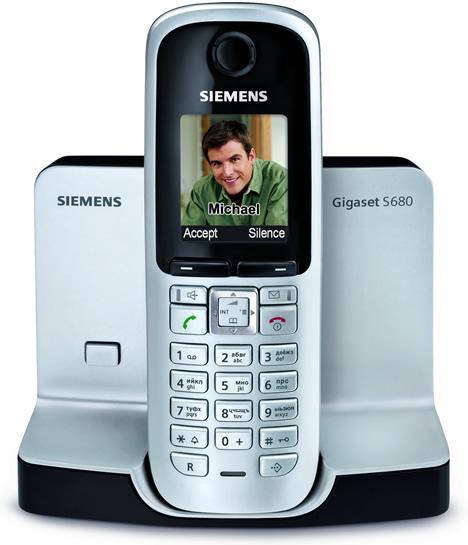 Siemens Teléfono Gigaset S680