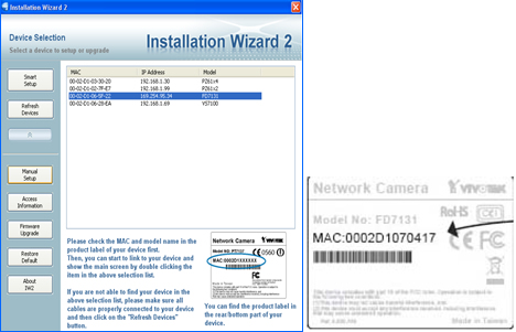 Instalation Wizard Cámara IP Vivotek LSB