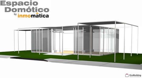 Espacio Domótica EcoBuilding Inmomática
