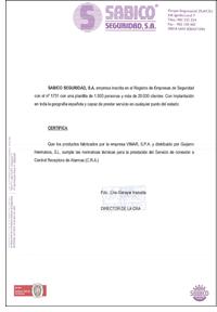 Certificado Sabico Seguridad Wimar Guijarro