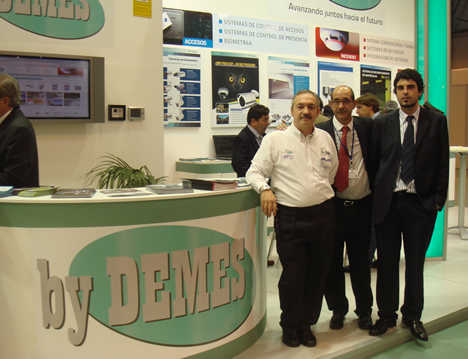 By DEMES Stand MATELEC 2008