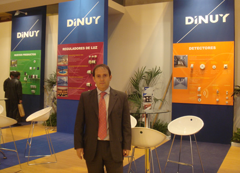 DINUY Stand MATELEC 2008