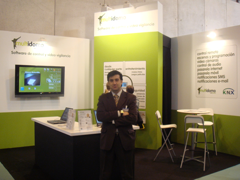 Multidomo Networks Stand MATELEC 2008