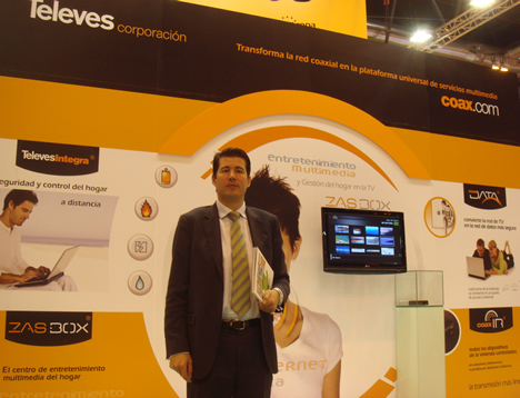 Televes Stand MATELEC 2008