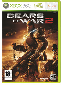 Microsoft Gears Of War 2 Carátula Xbox 360