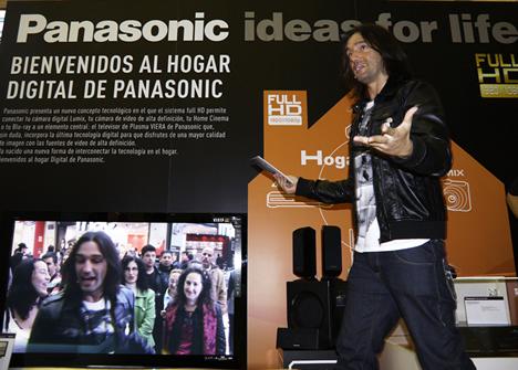 Panasonic FullHDCaravanTour Rafa Méndez