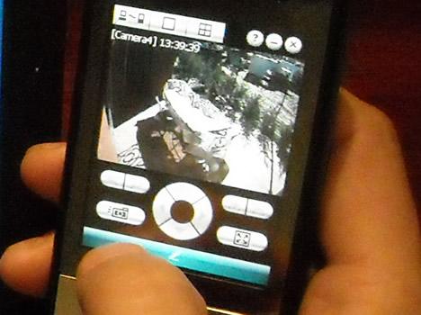 Visualización Remota Videovigilacia PDA El Sitio de los Negrales de TOGASA Secosol