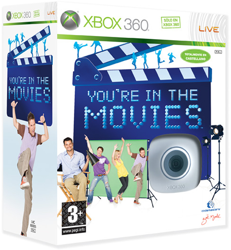 You're in the Movies Xbox 360
