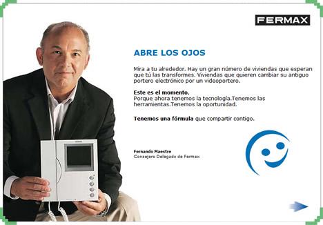 Anuncio Fernando Maestre Formula Fermax
