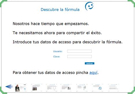 Página Web Formula Fermax