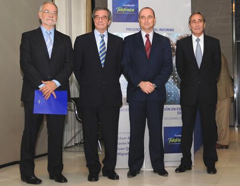Presentacion Informe Sociedad de Información 2008 de Telefónica