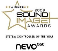 Domoval Nevo Q50 Sound Image Awards 2009