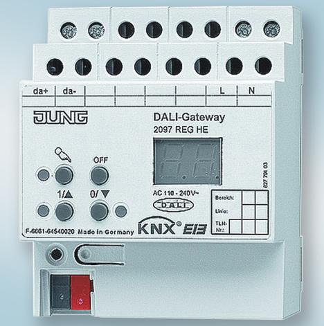 Edificio Agbar Collblanc Interface KNX DALI de Jung