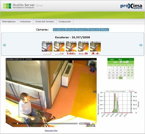 Occhio Server Proxima Systems