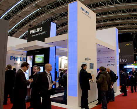 Stand Philips Pronto en ISE 2009