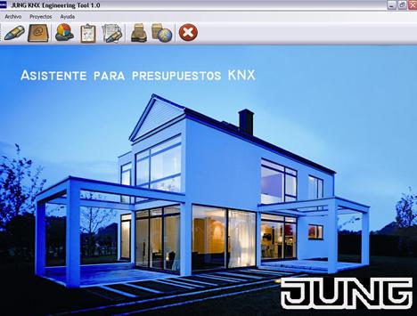 Asistente para Presupuestos KNX v1.0 de Jung