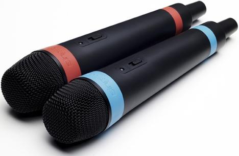 Sony SingStar Micrófonos Inalámbricos