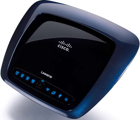 Linksys Router Inalámbrico WRT610N