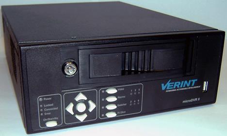 Grabador de Vídeo Digital Nextiva MicroDVR II de Verint Systems