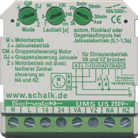 Módulo de Domotica UMS-U5 Schalk de Domotiks