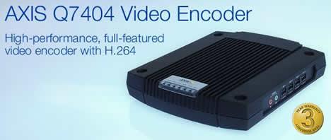 Axis Video Encoder Q7404