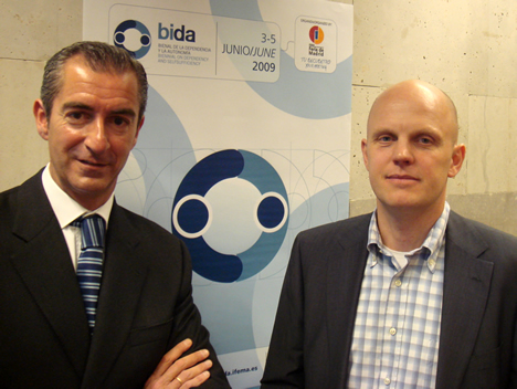 Firma Acuerdo Santiago Quiroga BIDA IFEMA y Stefan Junestrand CASADOMO
