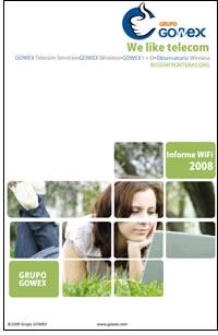 Grupo GOWEX Informe Anual WiFi 2008