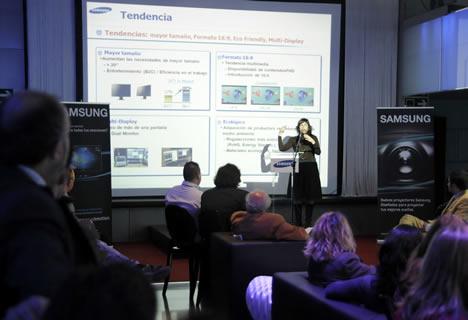 Evento IT de Samsung
