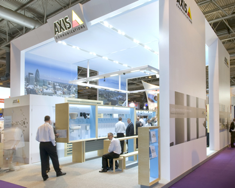 Stand AXIS IFSEC 2009