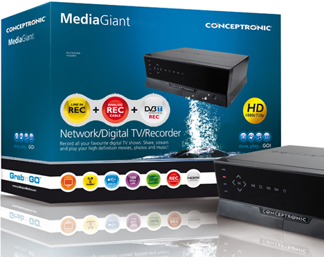 Conceptronic Media Giant TDT HD