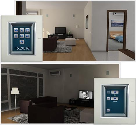 BTicino Touch Screen