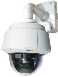 Cámara IP Domo PTZ Q6032-E de Axis