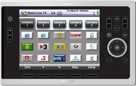 IHS TSU9800 Spanish TV Channels