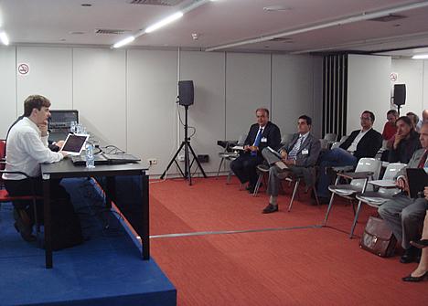Enrique Varela Couceiro de Fundación ONCE - Jornada Domótica y Teleasistencia