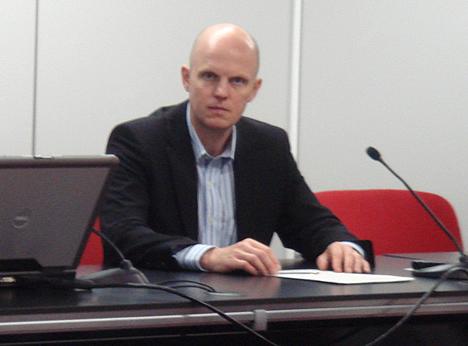 Stefan Junestrand de CASADOMO - Jornada Domótica y Teleasistencia