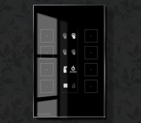 Tectado Táctil Aurus Teletask de Home Systems