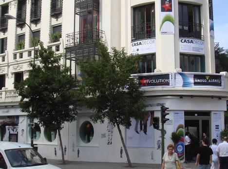 Detalle Fachada CASA DECOR Madrid 2009