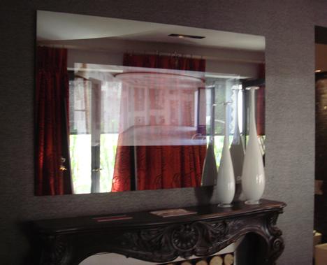 Espejo TV Habitación Principal CASA DECOR Madrid 2009